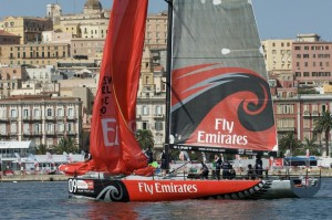 The boat is heavily based on Emirates Team New Zealand's TP52, currently leading the MedCup circuit (c) Chris Cameron