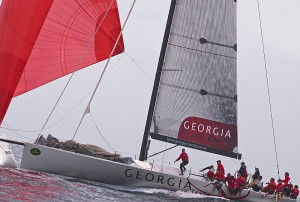 Georgia races in Sydney (c) Daniel Forster and Rolex