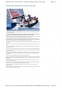 Sail World Geelong article